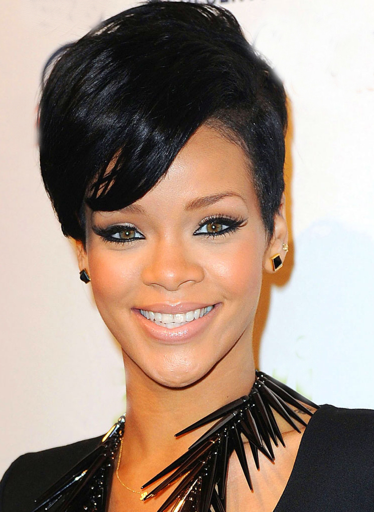 Rihanna Hairstyle 2014
