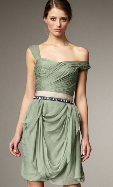 Short Bridesmaid Dress 2014