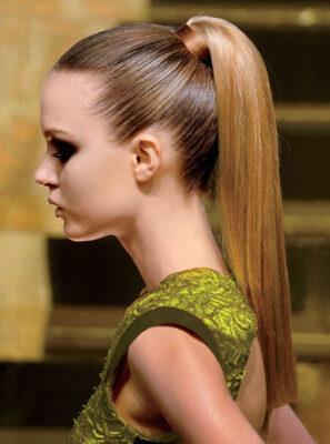 Slick Hair Fashion