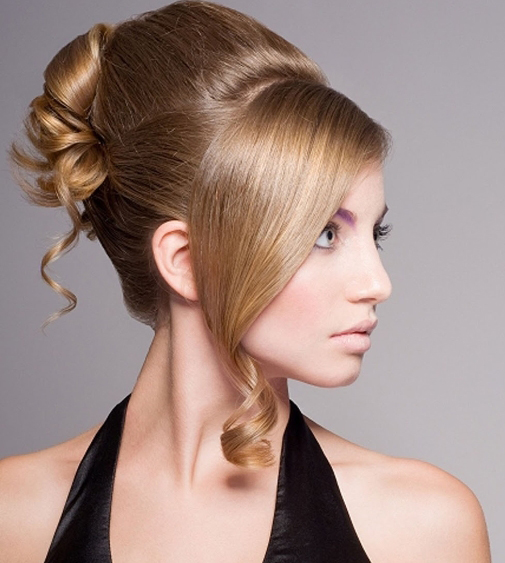 Sculpted Hairstyle