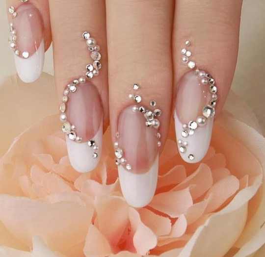 New Wedding Nail Art