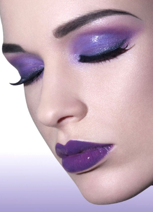 Lavender Pastel Makeup