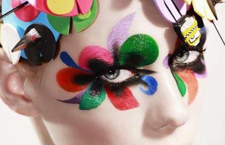 Painted Eye Makeup Trend