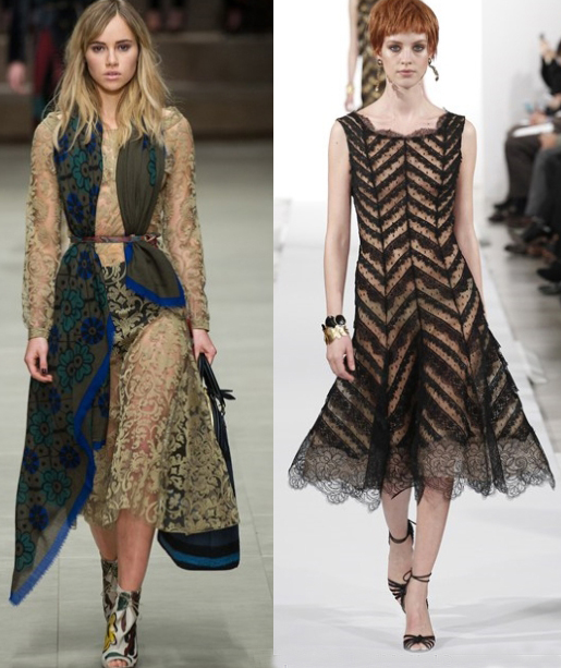 Sheer Dressing – The Hottest Style Trend 2014