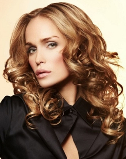 Curly Professional Hairstyles 2014