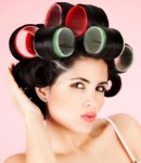 Get Sassy Regal Twists with Velcro Rollers