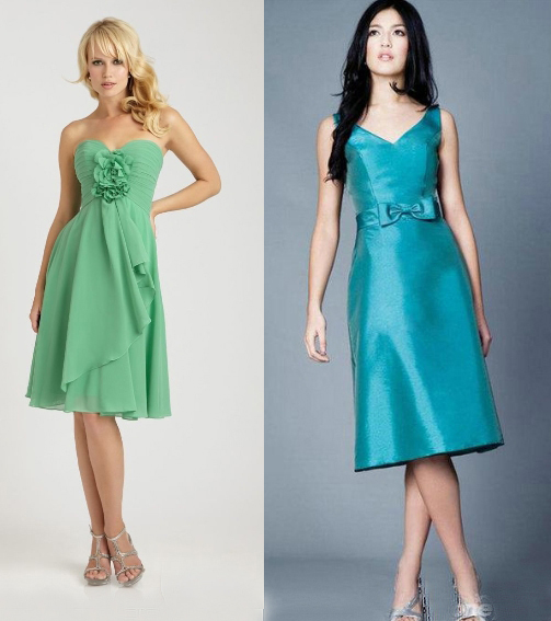 Green Bridesmaid Dress 2014