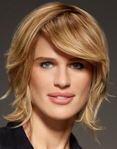 Modern short bob hairstyle for women