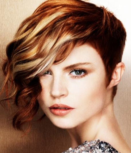 Tapered Short Hairstyle 2015