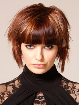 Women's Popular short bob hairstyles 2015