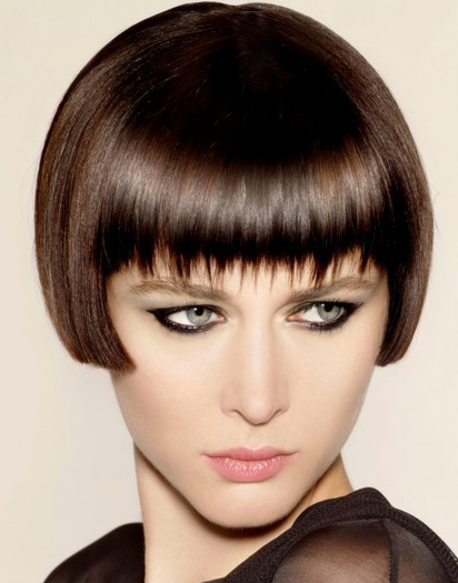 razor short sleek  hairstyles for women