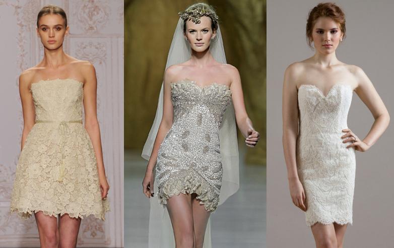 Best Short Wedding Dresses 2015