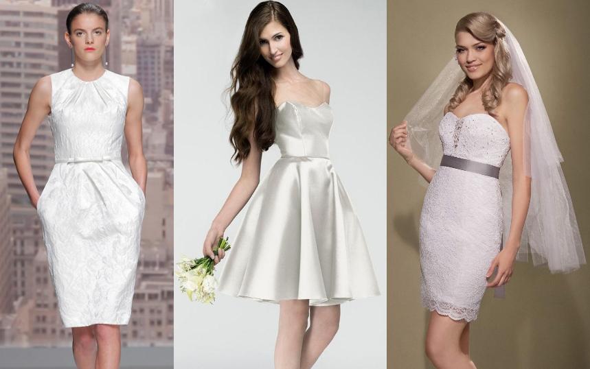 Hottest Short Wedding Dresses 2015