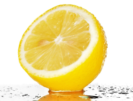Lemon For Shiny Healthy Hair