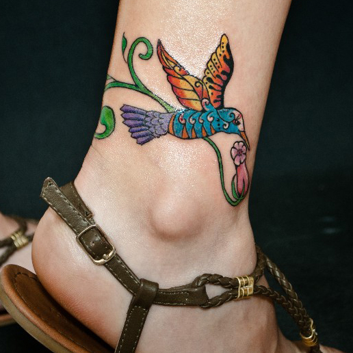 Ankle Tattoo Styles