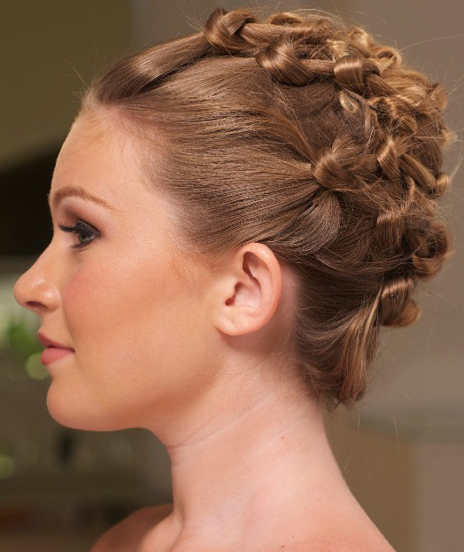 Prettiest Formal Updo Hairstyles 2016 for Girls
