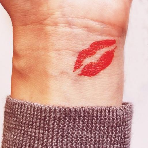Lips Tattoo Style