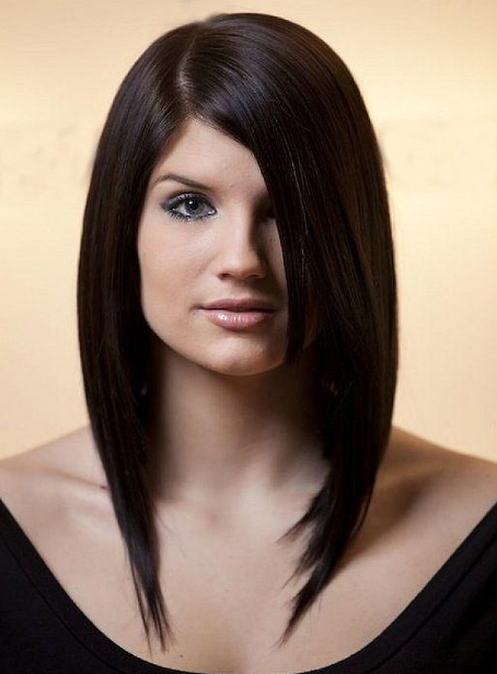 Womens 2016 Sleek Medium Hairstyles