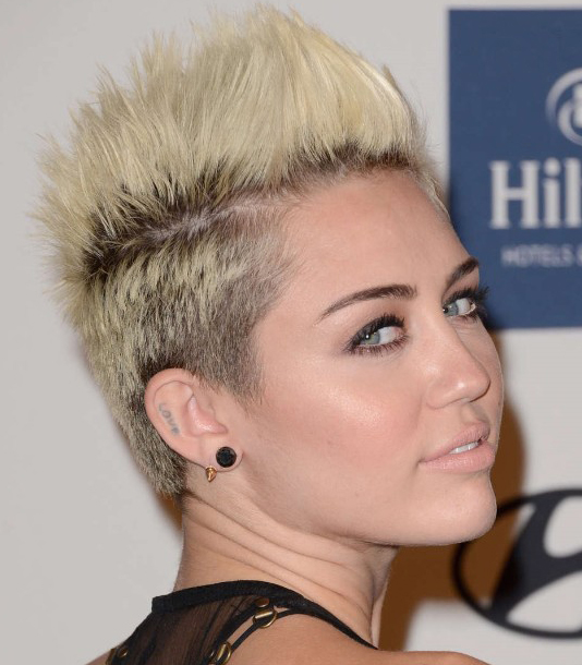 Fierce Miley Cyrus Hairstyles