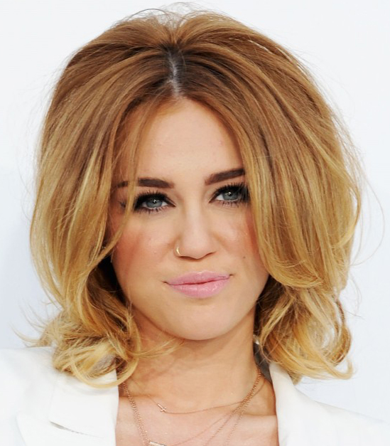 Miley Cyrus Short Step Hairstyle