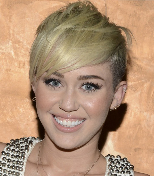 Short Funky Miley Cyrus Hairstyless