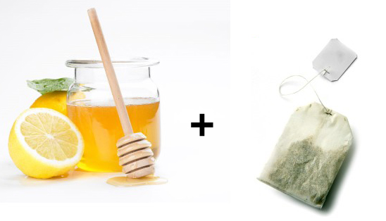 Green Tea and Lemon Mask for Skin