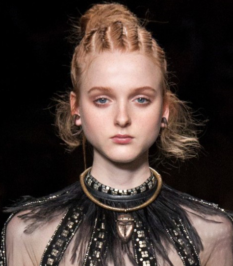 new runway hairstyles 2016