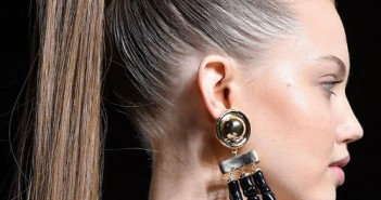 ponytail runway hairstyles 2016
