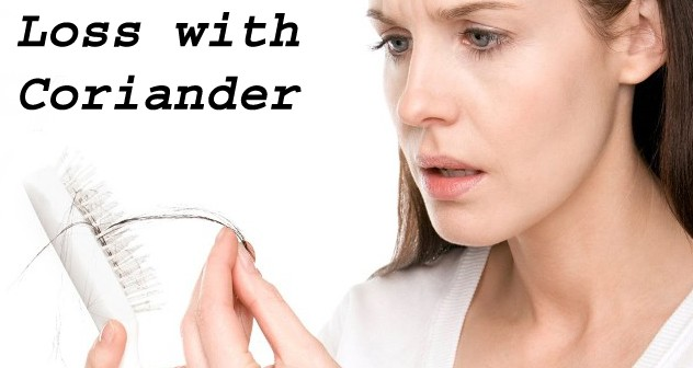 Coriander for Hair loss and Re-growth