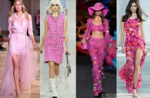 runway fashion 2017 pink colro trends