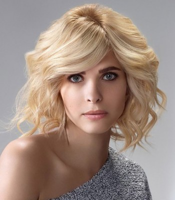 Blonde Short Wavy Haircuts 2017