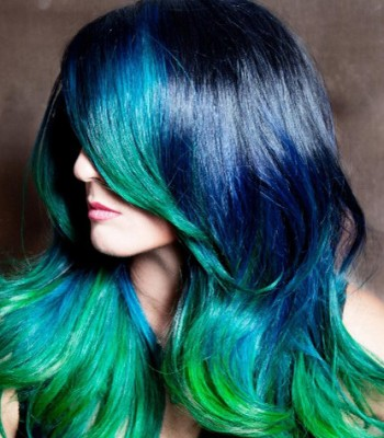 Blue 2017 Hair Color Trends for Women