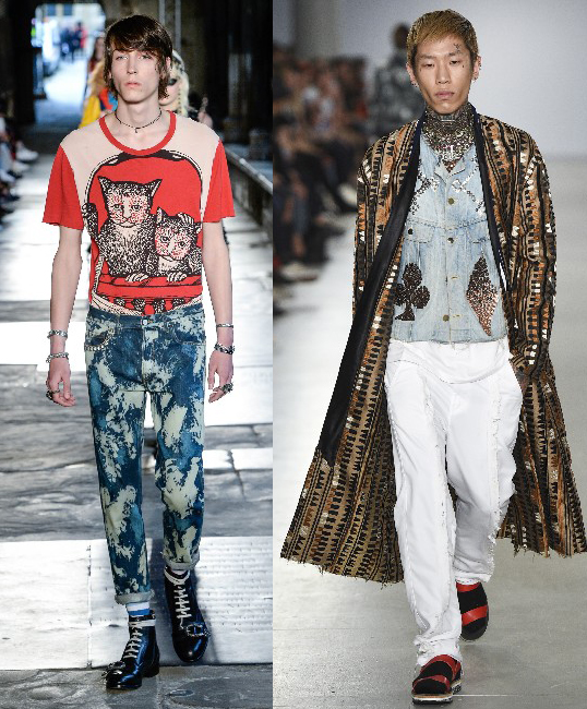 Men's 2017 Fashion Jeans Trends