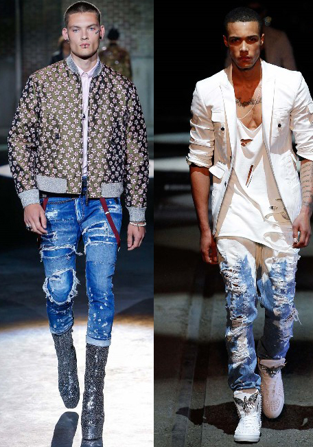 Men's 2017 Fashion Jeans