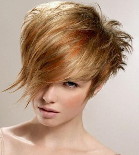 Angular Hair style