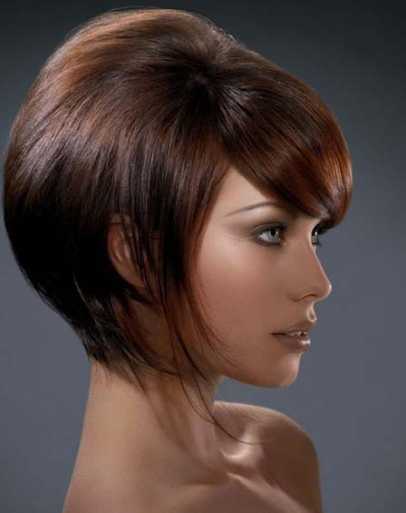 Angular Modern Bob Hairstyle