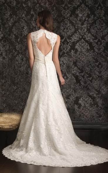 Backless Wedding Dresses 2014