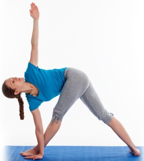 Yoga Inverted Triangle