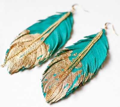Feather Jewelry Trend 2014