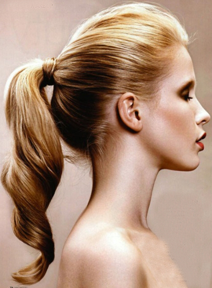 Long Ponytail Hairstyle 2014