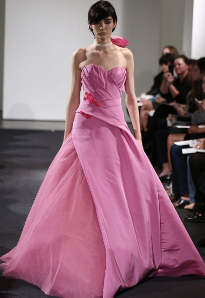 Pink Wedding Dresses 2014