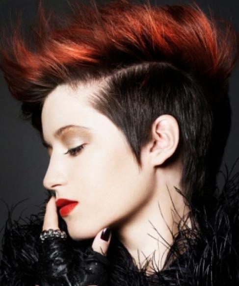 Short Fierce Hairstyle