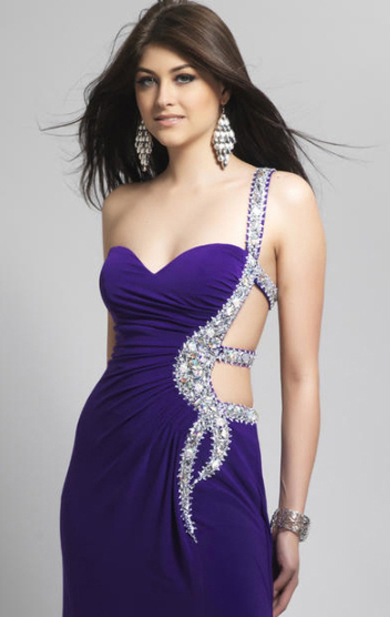 Sleek Prom Hairstyle