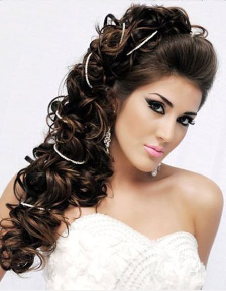 Curly Greek Hairstyle 2014