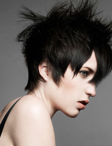 Fierce Short Sleek Hairstyles