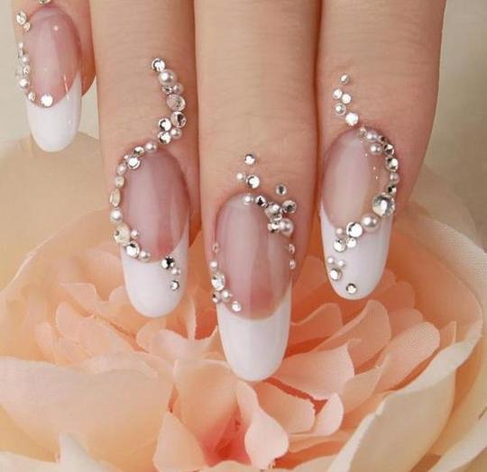 New Wedding Nail Art