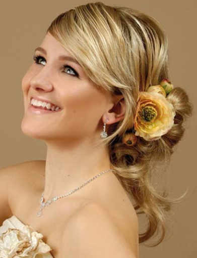 Hairstyle with Accessory