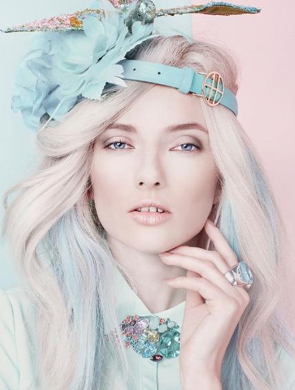 Mint Pastel Makeup