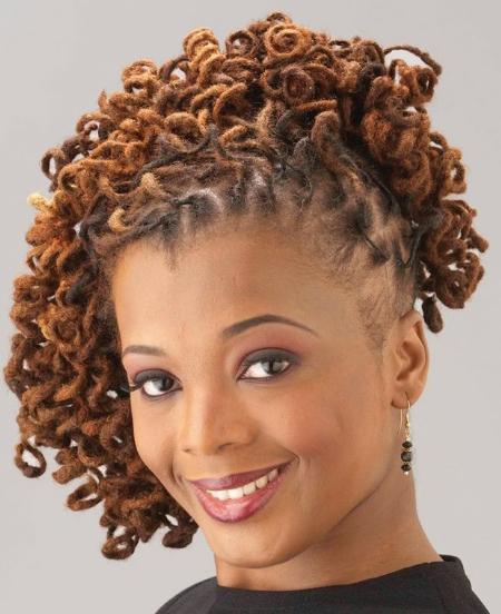 Sisterlocks African Hairstyle 2014