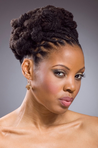Updo African Hairstyle